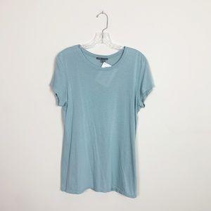 Vince | short sleeve t-shirt light blue size XL